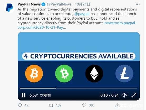 """王永利:从金融监管角度看Paypal""""用户可以用加密货币购物""""的真相"""