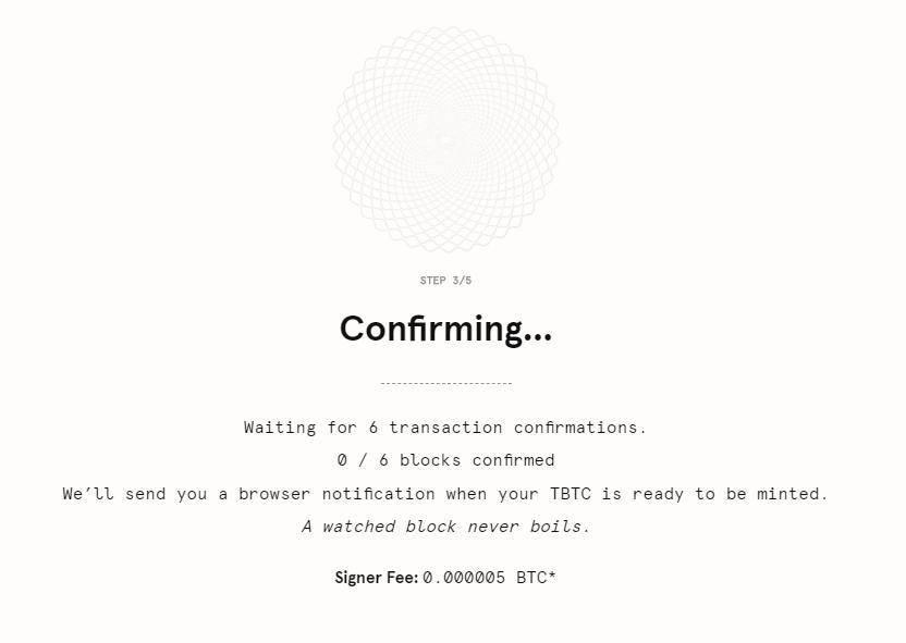 手把手教你如何铸造免信任的跨链比特币 tBTC